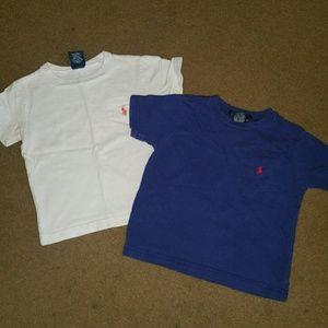 Ralph Lauren assorted toddler shirts